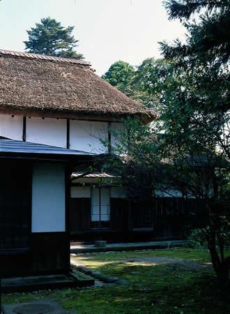 奥山廻役の邸宅