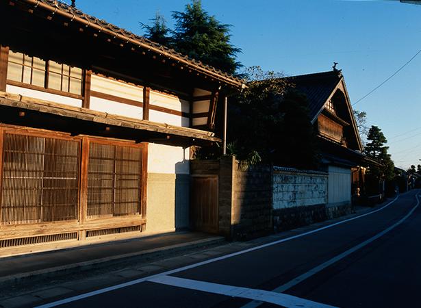 熊野街道沿いの街なみ